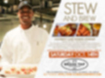 "The Brass Tap, Chef Stew, and  Robert Stewart presents ""Stew and Brew"""