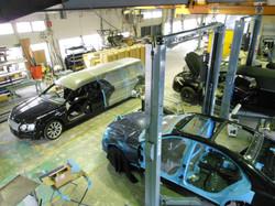 第2工場 車体工程&工室