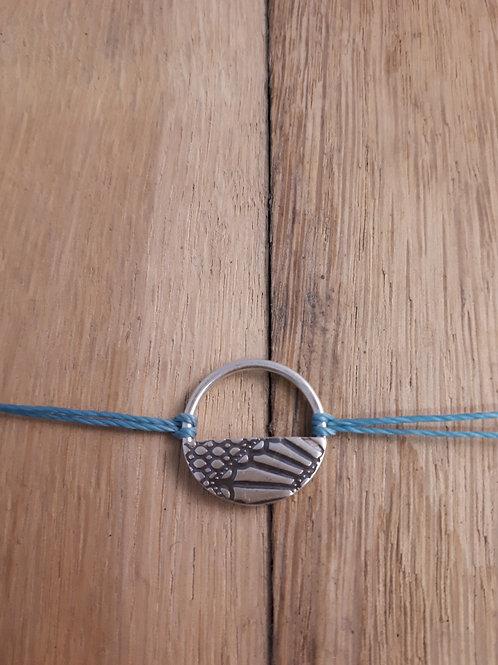 Bracelet Panier Bleu clair