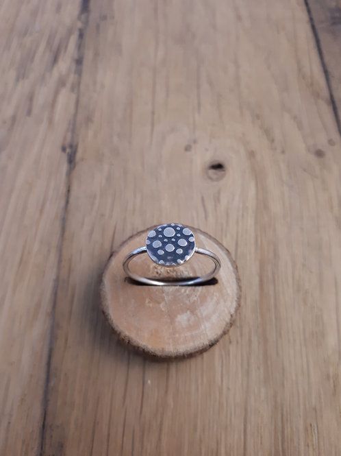 Mini Bague Press Bulle