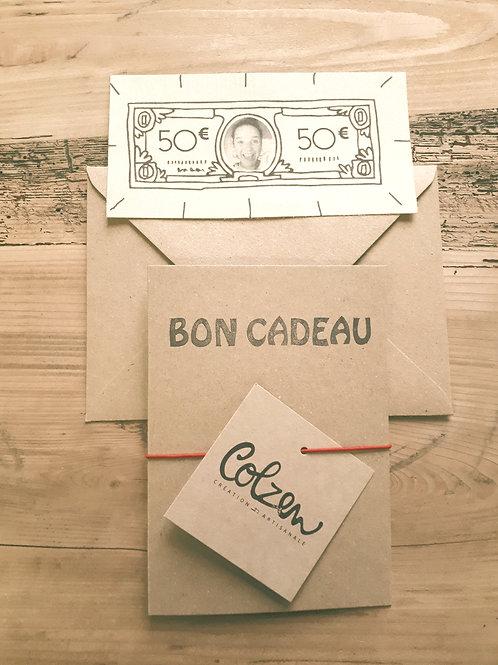 Bon Cadeau 50 euros