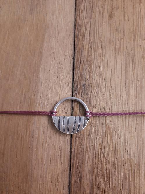 Bracelet Panier Vieux rose