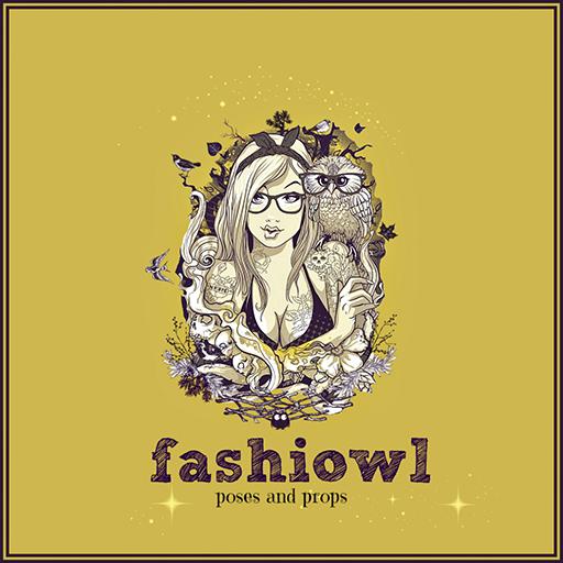 Fashiowl poses = logo - Goizane Resident