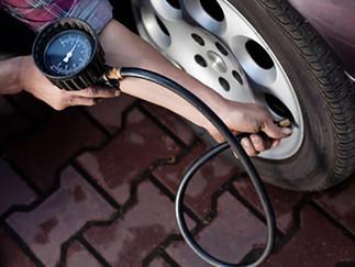 รถเก๋ง รถกระบะต้องเติมลมยางเท่าไร