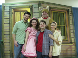 The cast of Henry and Mudge