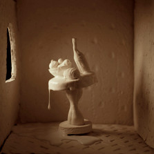 Vanity & Vapor, White Still Life