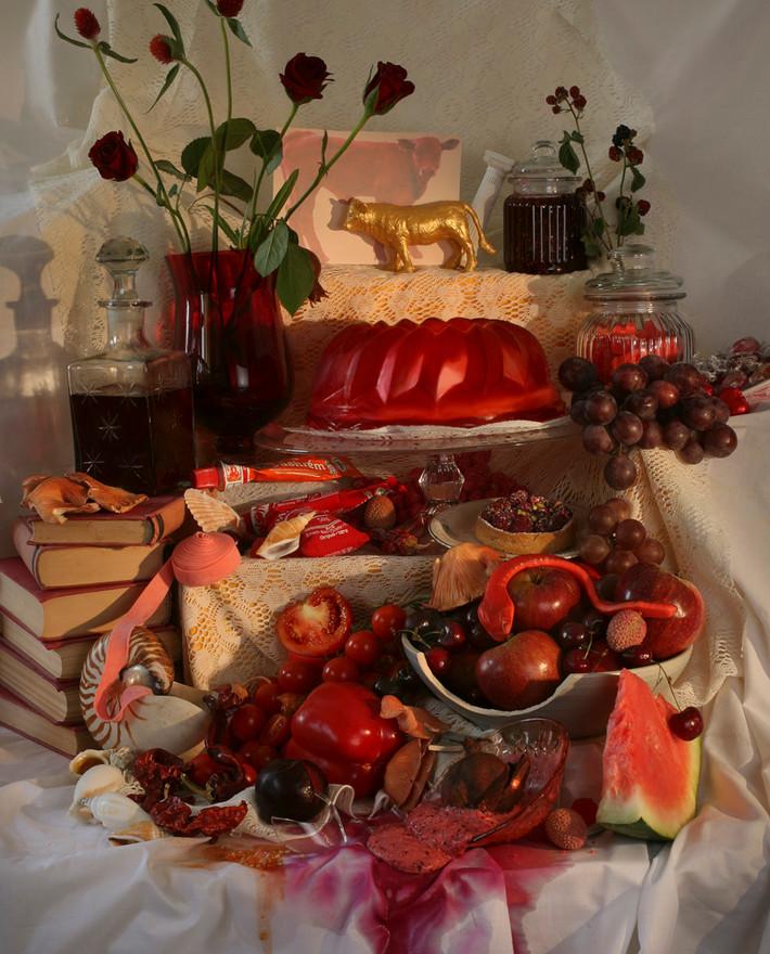 01-Einat Arif-Galanti-Red-2010 100cm 180