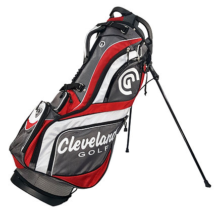 Z-FOUR STAND BAG BLACK/RED