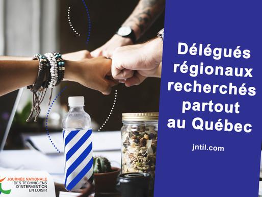 Délégués régionaux recherchés !
