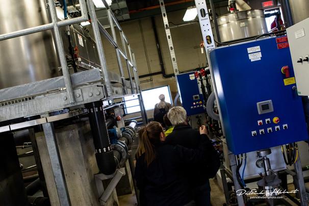 Visite privilège de la station d'épuration des eaux usées de Salaberry-de-Valleyfield