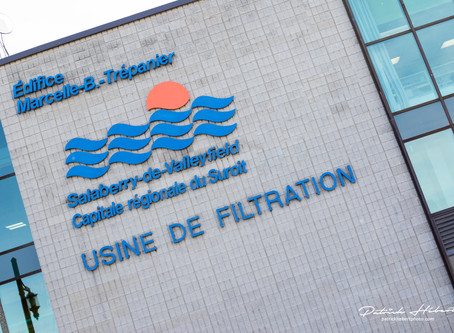 Visite privilège de l'usine de filtration de Salaberry-de-Valleyfield