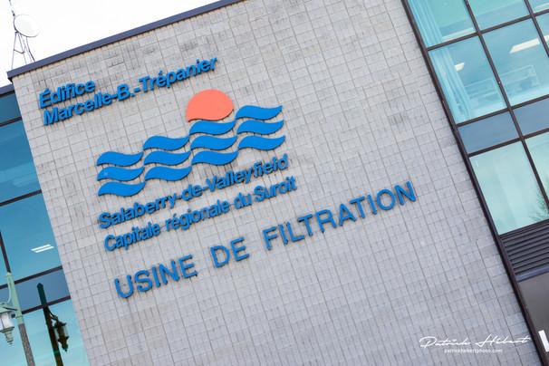 Visite privilège de l'usine de filtration de Salaberry-de-Valleyfield