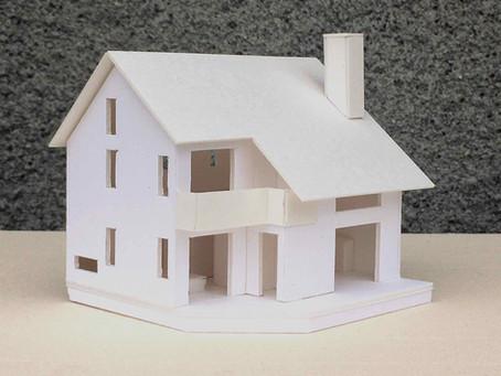 軽井沢の家④模型製作