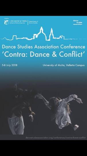Dance Studies Association Conference