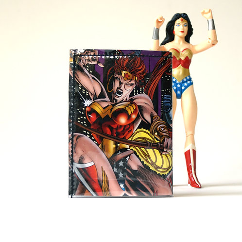 WONDER WOMAN Portemonnaie Comic Unikat (Vorne)
