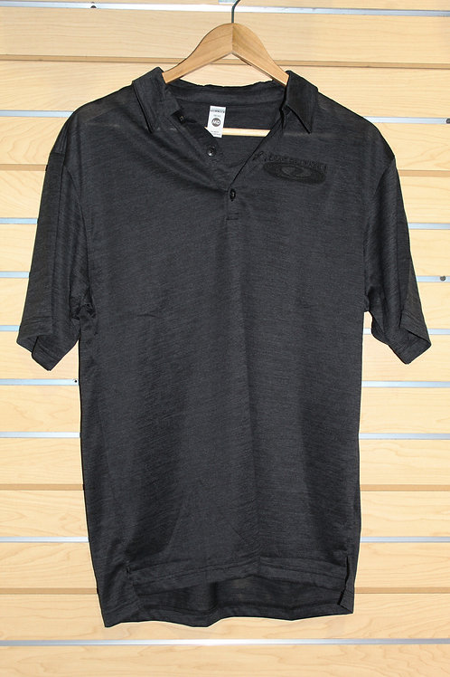 Black Texas Ski Ranch Polo