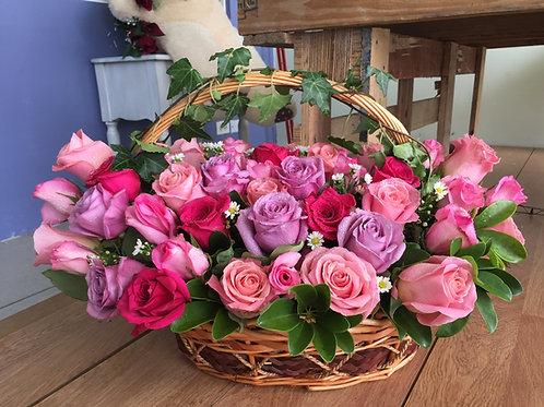 Rosas, rosas y rosas