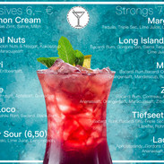 Cocktail Karte