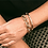 "Thumbnail: 18K gold-plated bangle for women ""Athyla"""