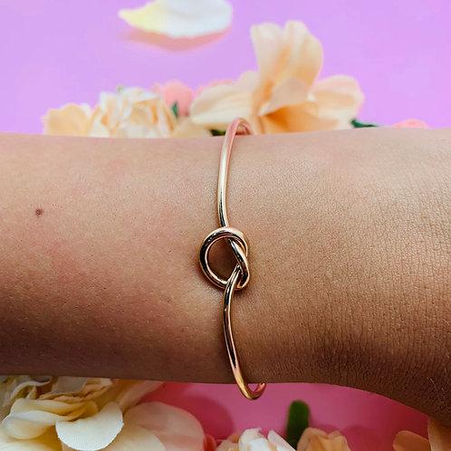 Bracelet jonc|femme acier plaqué or|ZOÉ by HerlinG