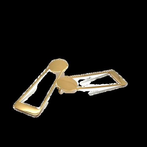 Boucle d'oreille femme originale- plaqué or fin-bijoux créoles |HerlinG