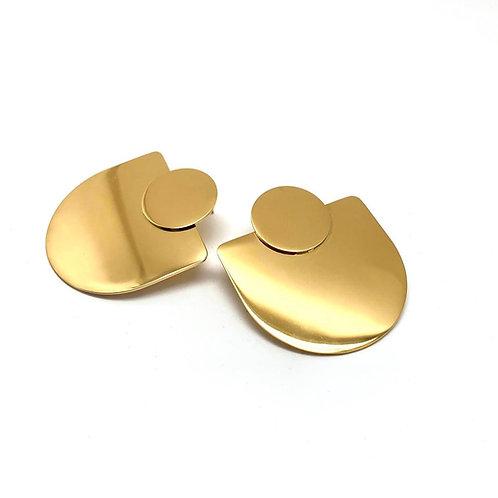 Boucles d'oreilles femmes-créoles originales-bijoux plaqué or|HerlinG