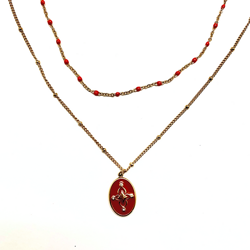 Collier pendentif femme acier inoxydable ZOÉ by HerlinG