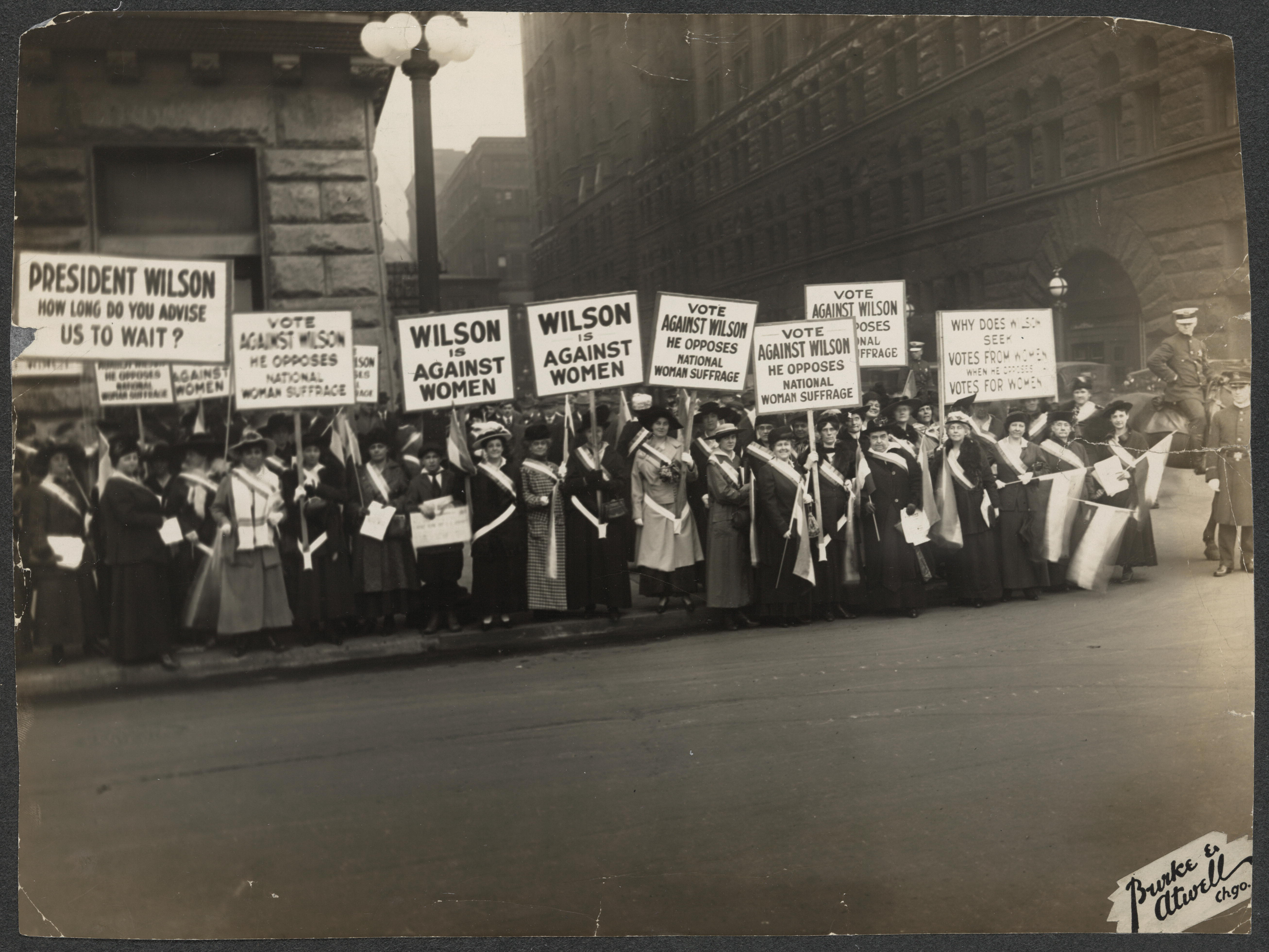 NWP pickets, Chicago 1916
