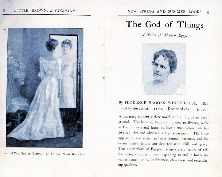 Her first novel, The God of Things