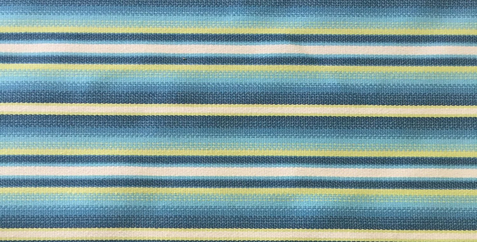 Ocean Blue & Lime Green R/R Stripe