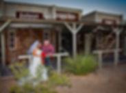 Western Trails Park wedding, Las Vegas, The Roving Reverend