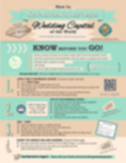 Guide to getting married in Las Vegas infographic