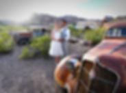 Nelson Ghost Town wedding, Las Vegas, The Roving Reverend