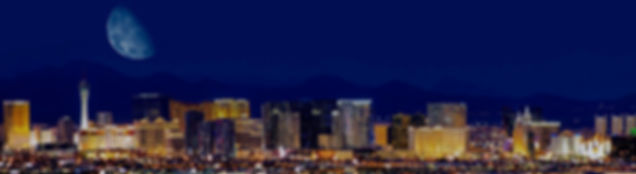 Las Vegas skyline at night, The Roving Reverend
