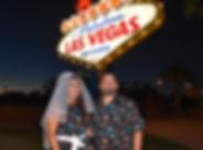 Welcome to Fabulous Las Vegas sign wedding, Las Vegas, The Roving Reverend