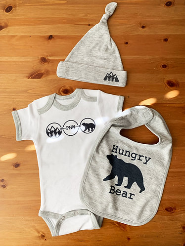 Hungry Bear Baby Gift Set