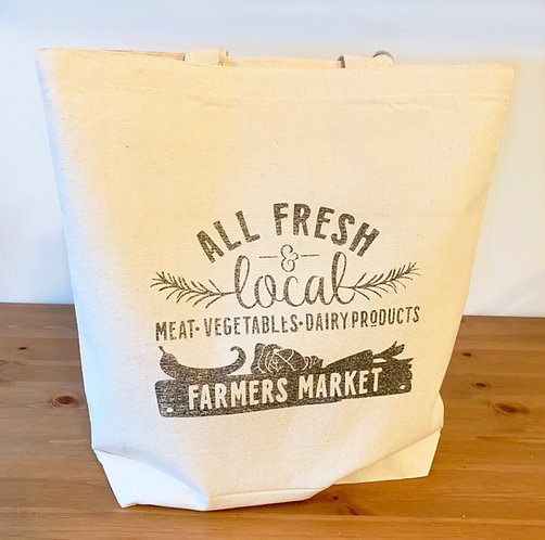 Long Beach Shopping Bag - Farmer's Market