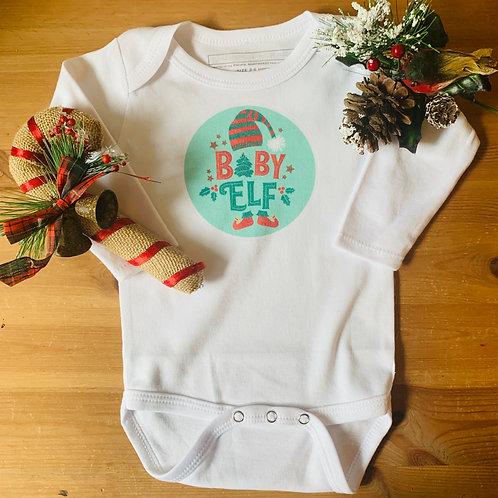 Baby Christmas LS Bodysuit - Baby Elf