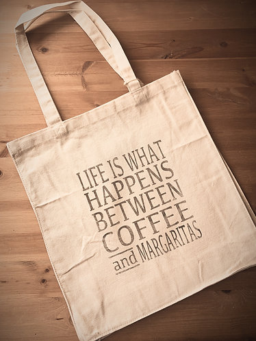 Seaside Shopping Bag -Life/Margaritas