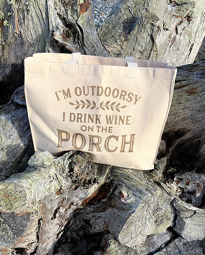 Westport Shopping Bag -Outdoorsy