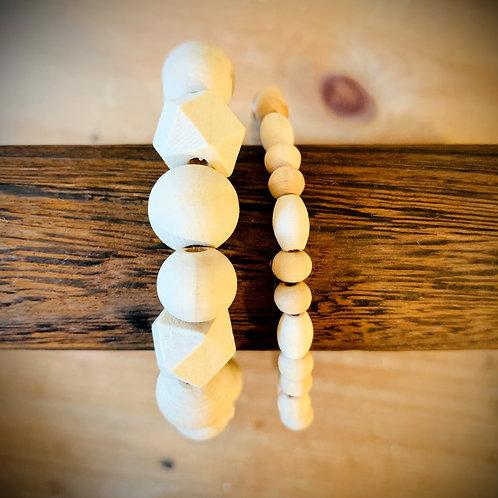 Westcott Bay Wood Bracelet Set