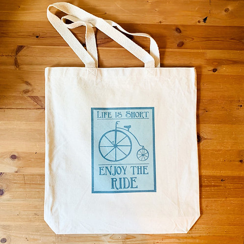 Long Beach Shopping Bag - Enjoy the Ride