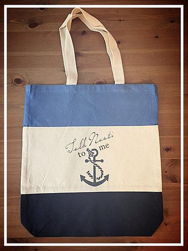 Nob Hill Shopping Bag - Talk Nauti To Me