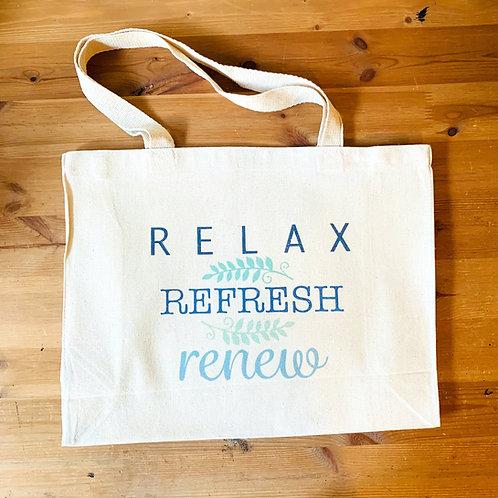Westport Shopping Bag -Relax,Refresh, Renew
