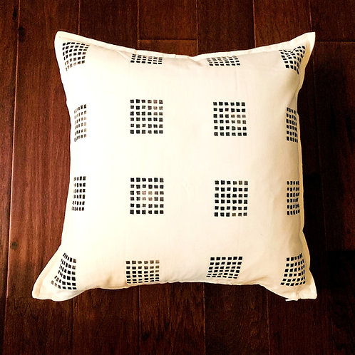 Three Rivers Throw Pillow Cover - Squares