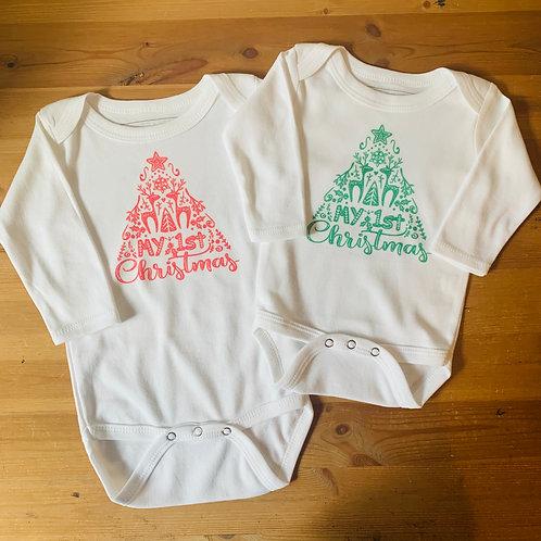 LS Christmas Bodysuit - 1st Christmas