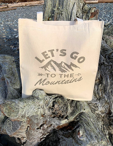 Seaside Shopping Bag - Lets Go