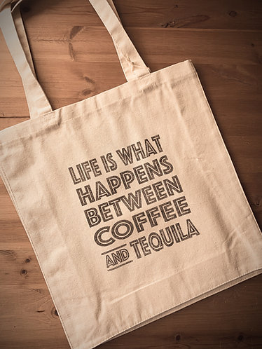 Seaside Shopping Bag -Life/Tequila
