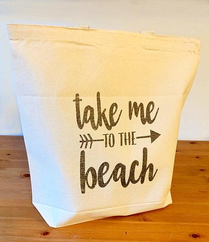 Long Beach Shopping Bag - Take Me To  The Beach