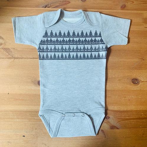 SS Christmas Bodysuit - Trees